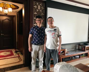 高雅视听,更增奢华-山东济南中式客厅影院