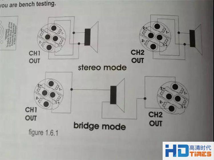 功放桥接该如何用?专业人士分析功放桥接