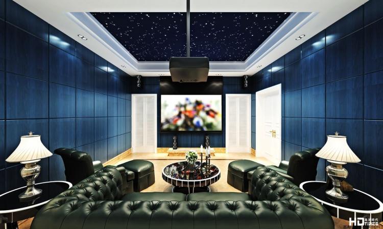 家庭影院设计效果图赏析 14张外国的风格