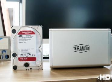 铁威马F5-421企业网络存储,影音存储/企业备份全能手